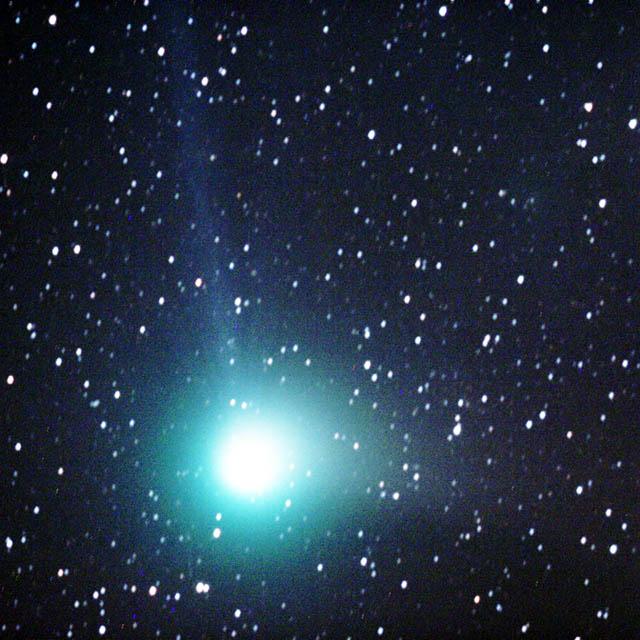 マックホルツ彗星→ココログ(star)へジャンプします
